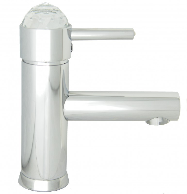Light swarovski deluxe rubinetti e miscelatori bagno savil - Miscelatori lavabo bagno ...